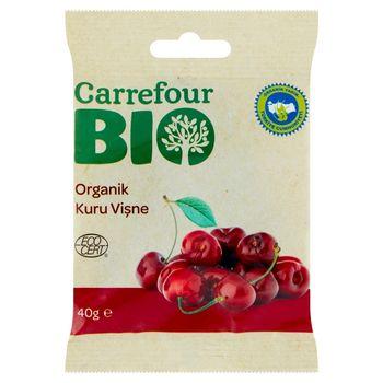 Carrefour Bio Ekologiczna wiśnia częściowo nasączona sokiem jabłkowym 40 g