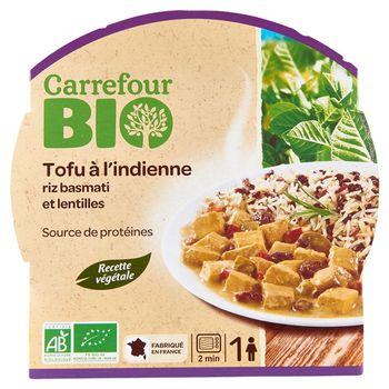 Carrefour Bio Ekologiczne danie w stylu indyjskim 300 g