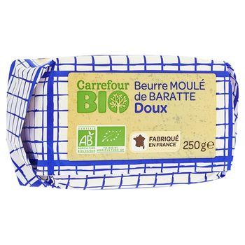 Carrefour Bio Ekologiczne masło osełkowe 250 g