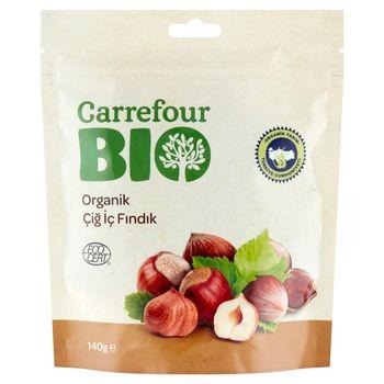 Carrefour Bio Ekologiczne orzechy laskowe 140 g
