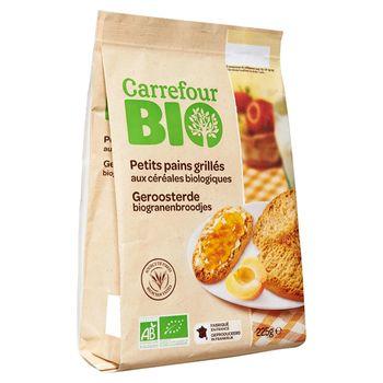Carrefour Bio Ekologiczne suchary zbożowe 225 g