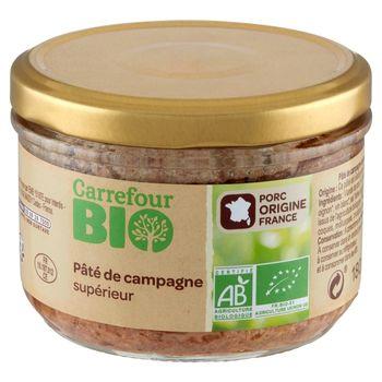 Carrefour Bio Ekologiczny francuski pasztet wieprzowy 180 g