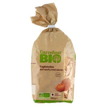 Carrefour Bio Ekologiczny makaron jajeczny tagliatelle 250 g