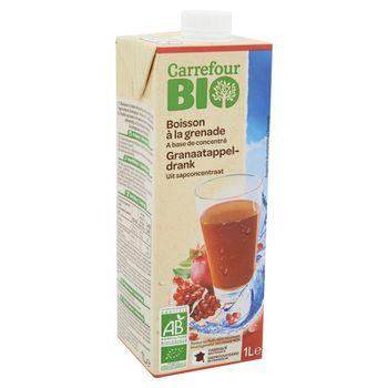 Carrefour Bio Ekologiczny napój z owoców granatu 1 l