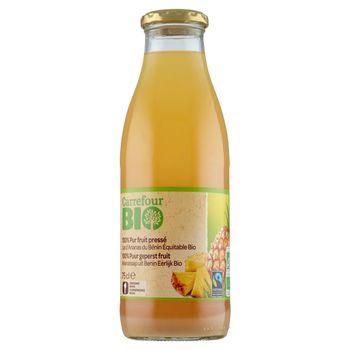 Carrefour Bio Ekologiczny sok ananasowy 750 ml