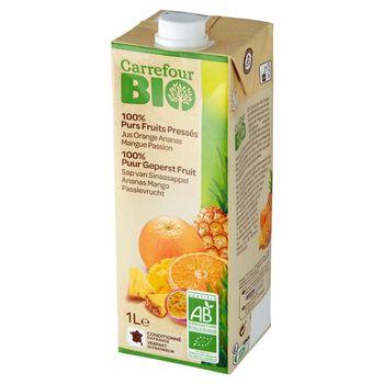 Carrefour Bio Ekologiczny sok wieloowocowy 1 l