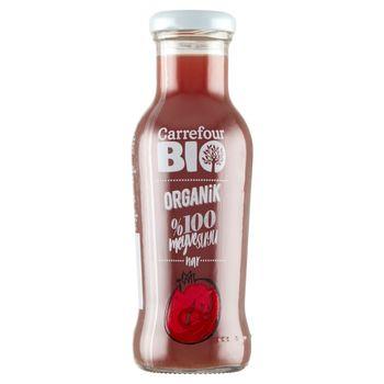 Carrefour Bio Ekologiczny sok z owoców granatu 250 ml