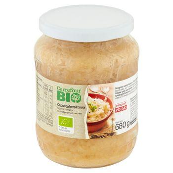 Carrefour Bio Kapusta kwaszona 680 g