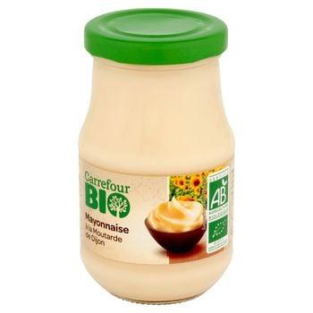Carrefour Bio Majonez z musztardą Dijon 238 g