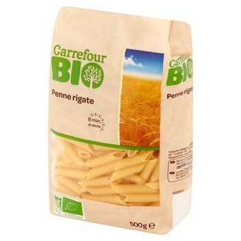 Carrefour Bio Makaron penne rigate 500 g