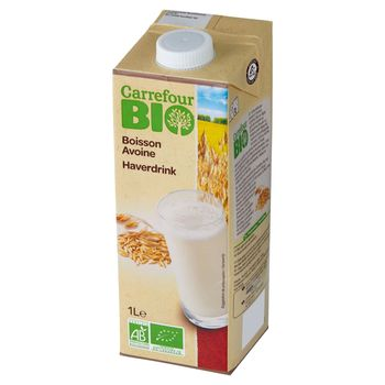 Carrefour Bio Napój owsiany 1 l