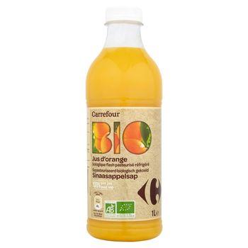 Carrefour Bio Sok pomarańczowy 1 l
