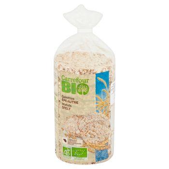 Carrefour Bio Wafle orkiszowe pełnoziarniste 100 g