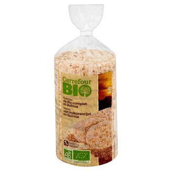 Carrefour Bio Wafle ryżowe z komosą ryżową 100 g
