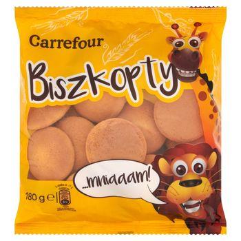 Carrefour Biszkopty 180 g
