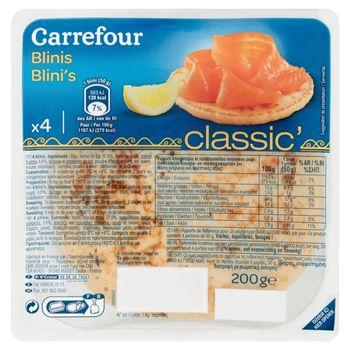 Carrefour Bliny Naleśniki drożdżowe 200 g (4 sztuki)