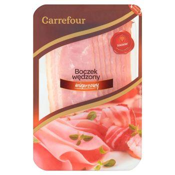 Carrefour Boczek wędzony wieprzowy 120 g