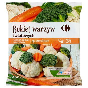 Carrefour Bukiet warzyw kwiatowych mrożony 450 g
