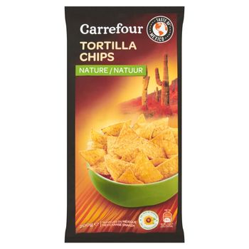 Carrefour Chipsy tortilla solone 200 g