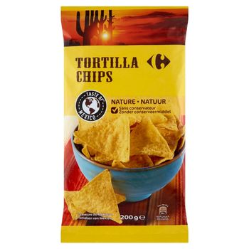 Carrefour Tortilla Chipsy solone 200 g