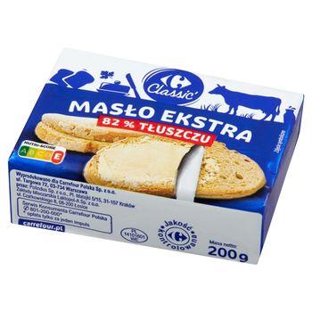 Carrefour Classic Masło ekstra 200 g