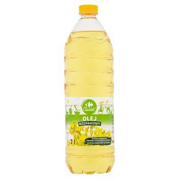 Carrefour Classic Olej rzepakowy 1 l