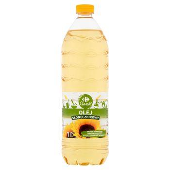 Carrefour Classic Olej słonecznikowy 1 l