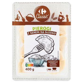 Carrefour Classic Pierogi z serem na słodko 400 g