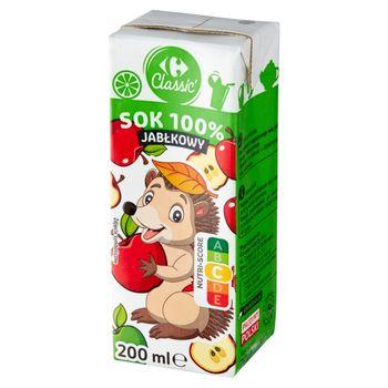 Carrefour Classic Sok 100% jabłkowy 200 ml