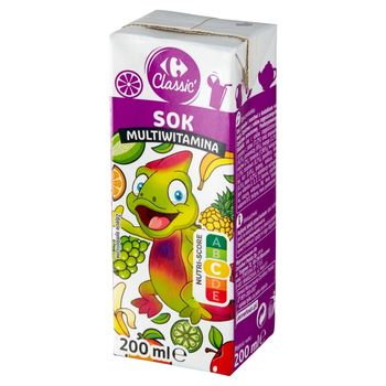 Carrefour Classic Sok muliwitamina 200 ml