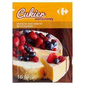 Carrefour Cukier wanilinowy 16 g