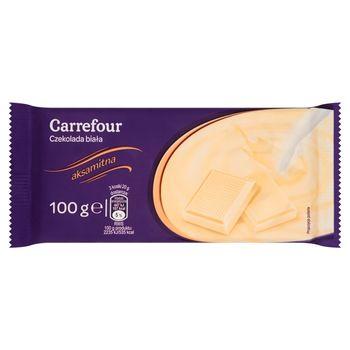 Carrefour Czekolada biała 100 g