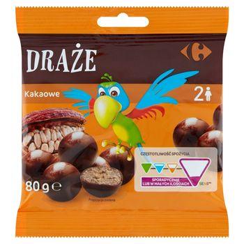 Carrefour Draże kakaowe 80 g
