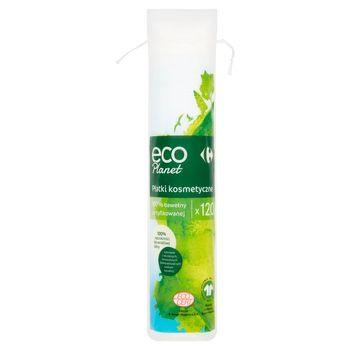 Carrefour Eco Planet Płatki kosmetyczne 120 sztuk