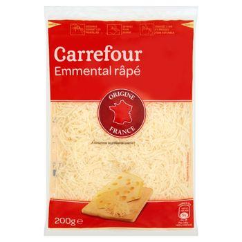 Carrefour Emmentaler Ser twardy tarty 200 g