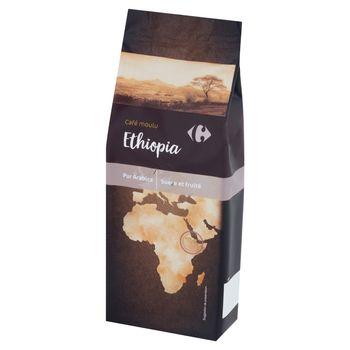 Carrefour Etiopia Kawa mielona Arabica 250 g