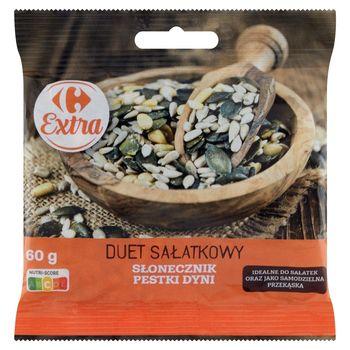 Carrefour Extra Duet sałatkowy słonecznik pestki dyni 60 g
