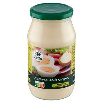 Carrefour Extra Majonez dekoracyjny 400 ml