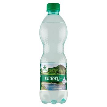 Carrefour Extra Sudety+ Naturalna woda mineralna gazowana 500 ml
