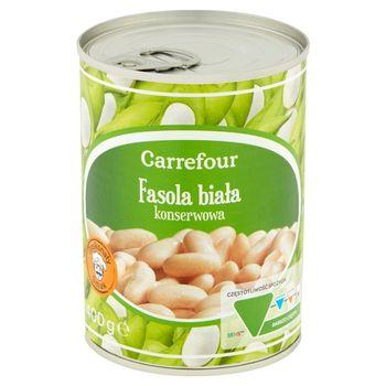Carrefour Fasola biała konserwowa 400 g