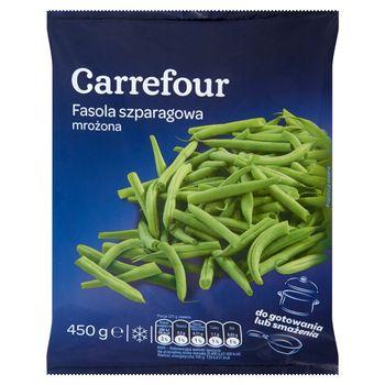 Carrefour Fasola szparagowa mrożona 450 g