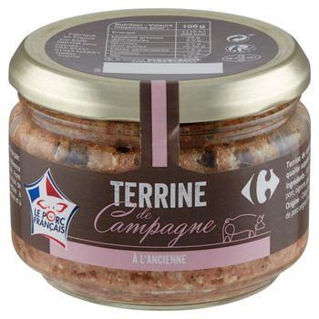 Carrefour Francuski pasztet wieprzowy 180 g