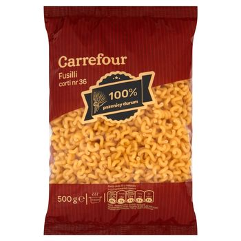Carrefour Fusilli corti nr 36 Makaron 500 g