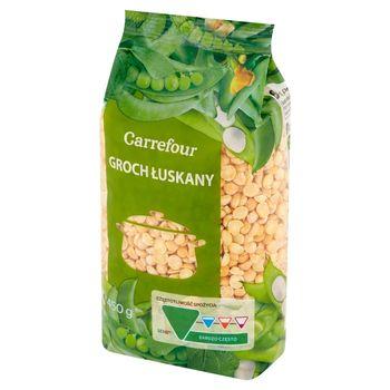 Carrefour Groch łuskany 450 g