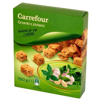 Carrefour Grzanki z ziołami 150 g