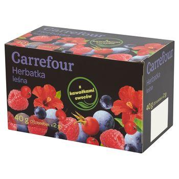 Carrefour Herbatka leśna 40 g (20 torebek)