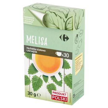 Carrefour Herbatka ziołowa liściasta melisa 30 g