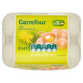 Carrefour Jaja XL 6 sztuk