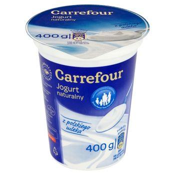 Carrefour Jogurt naturalny 400 g