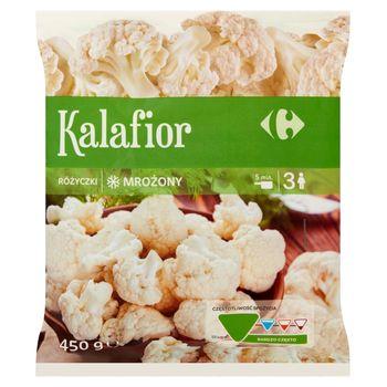 Carrefour Kalafior różyczki mrożony 450 g